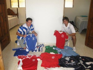 Jerseys donated to UNFC