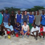 Friendly match in Haiti