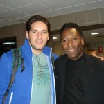 Gustavo with soccer legend Pelé