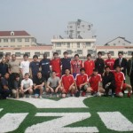 Friendly match in Shanghai